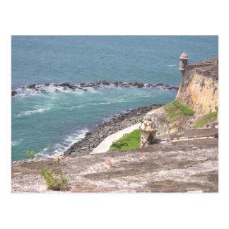 Carte Postale EL Morro, Porto Rico