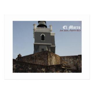 Carte Postale EL Morro, San Juan, Porto Rico