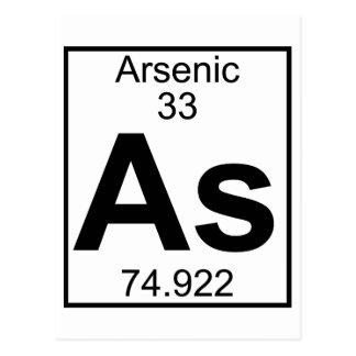 Carte Postale Élément 033 - Comme - Arsenic (plein)