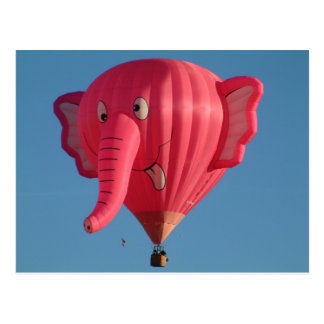 Carte Postale Éléphant de ballon