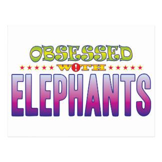 Carte Postale Éléphants 2 hantés