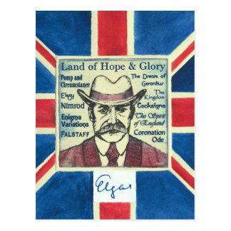 Carte Postale Elgar