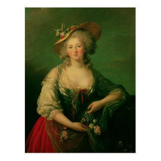 Carte Postale Elisabeth de la France a appelé Madame Elizabeth