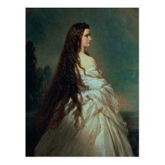 Carte Postale Elizabeth de la Bavière