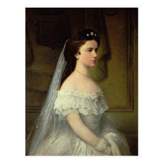 Carte Postale Elizabeth de la Bavière, impératrice de l'Autriche
