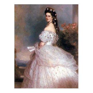 Carte Postale Elizabeth, impératrice de l'Autriche, 1865