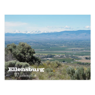 Carte Postale Ellensburg, voyage de Washington