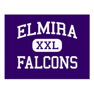 Carte Postale Elmira - Falcons - lycée - Elmira Orégon