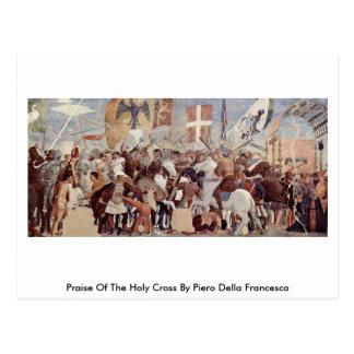 Carte Postale Éloge du Crossby saint Piero della Francesca