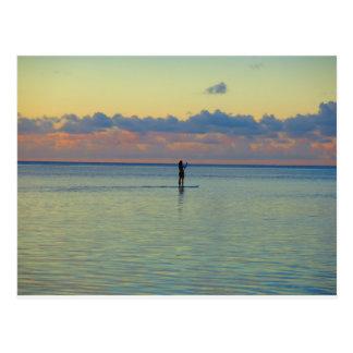 Carte Postale Embarquement de palette de baie de Tumon
