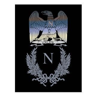 Carte Postale Emblème de Napoleon Bonaparte Eagle