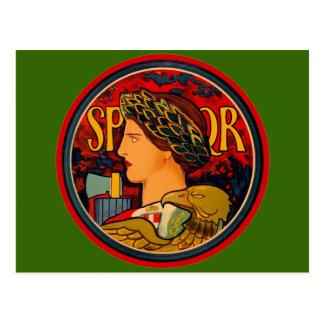 Carte Postale Emblème d'Italien de SPQR