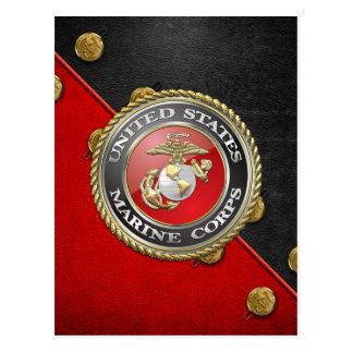 Carte Postale Emblème d'usmc et uniforme [3D]