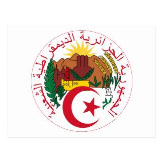 Carte Postale Emblème national de l'Algérie