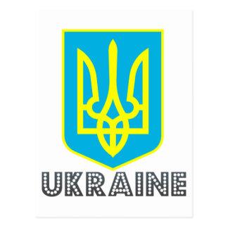 Carte Postale Emblème ukrainien