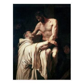 Carte Postale Embrassement St Bernard du Christ