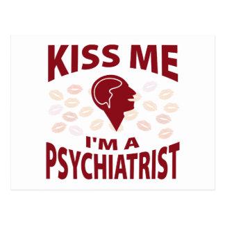 Carte Postale Embrassez-moi que je suis un psychiatre