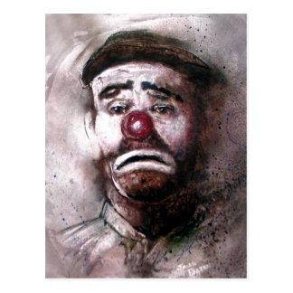 Carte Postale Émettez le clown Art.jpg de Kelly
