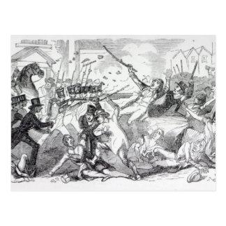 Carte Postale Émeute de complot de prise en Preston