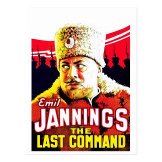 Carte Postale Emil Jannings - la dernière commande