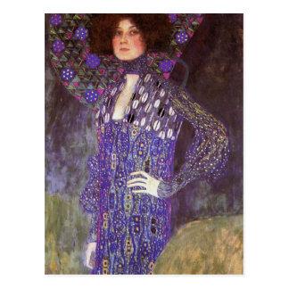 Carte Postale Emilie Floege par : Gustav Klimt