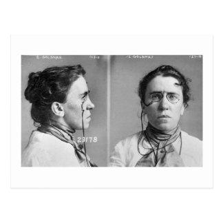 Carte Postale Emma Goldman - anarchiste, 1911