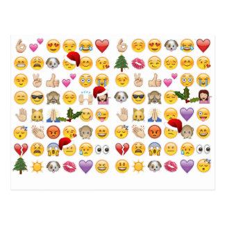 Carte Postale emojis de Noël