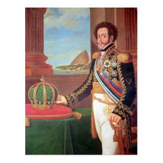 Carte Postale Empereur de Pedro I du Brésil, 1825