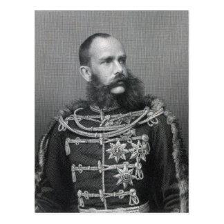 Carte Postale Empereur Franz Joseph I de l'Autriche