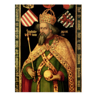 Carte Postale Empereur Sigismund, empereur romain saint