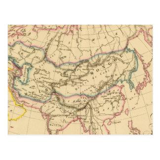 Carte Postale Empire des Mongoles