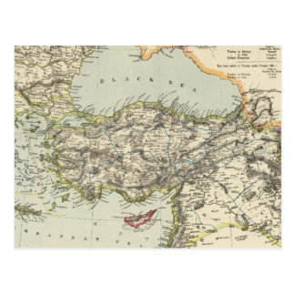 Carte Postale Empire turc, Grèce, Roumanie