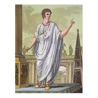 Carte Postale Emploi de revendication de citoyen romain, de