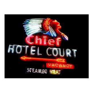Carte postale en chef d'hôtel de Las Vegas