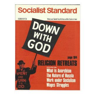 Carte Postale En décembre 1967 standard socialiste