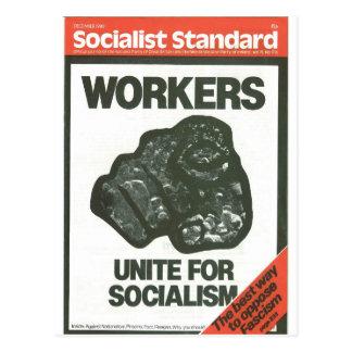 Carte Postale En décembre 1980 standard socialiste