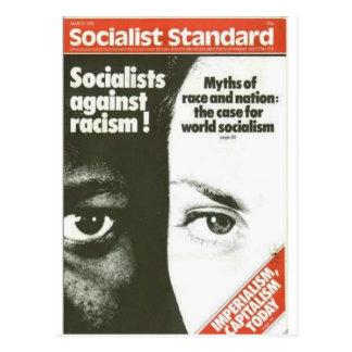 Carte Postale En mars 1981 standard socialiste