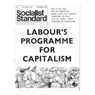 Carte Postale En octobre 1972 standard socialiste