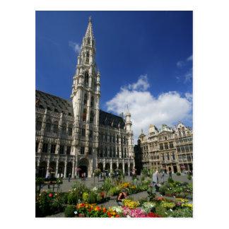 Carte Postale endroit grand, Bruxelles Belgique
