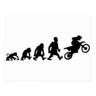 Carte Postale enduro de procès de moto