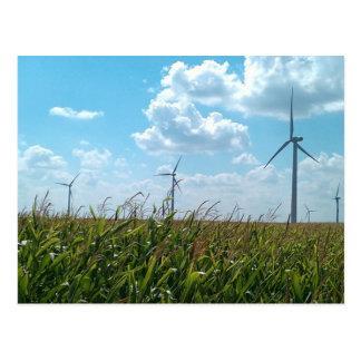 Carte Postale Énergie éolienne