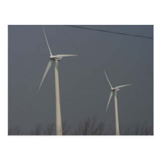 Carte Postale Énergie éolienne au Minnesota et le Dakota du Sud