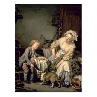 Carte Postale Enfant corrompu, 1765