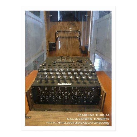 Carte postale Enigma
