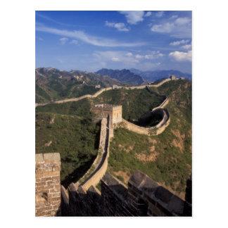 Carte Postale Enroulement de Grande Muraille par la montagne,
