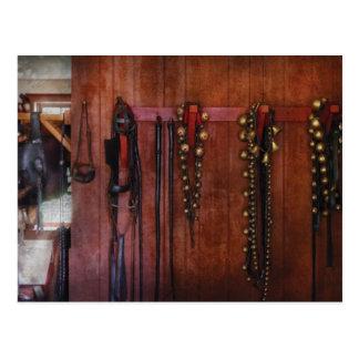 Carte Postale Entraîneur de cheval - tintements du carillon