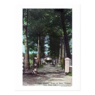 Carte Postale Entrée à la vue de Theodore Wagner de maison