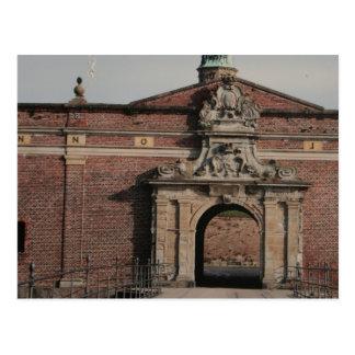 Carte Postale Entrée de château de Kronborg