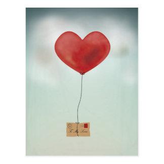 Carte Postale Envoi de votre amour