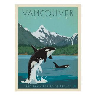 Carte Postale Épaulards de l'île de Vancouver |
